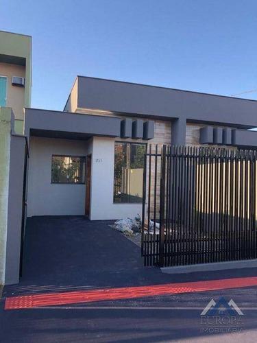 Imagem 1 de 16 de Casa Com 2 Dormitórios À Venda, 89 M² Por R$ 275.000,00 - Jardim Portal Dos Pioneiros - Londrina/pr - Ca1434