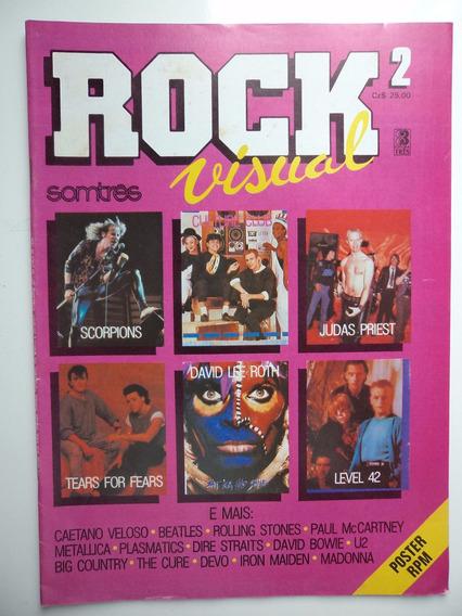 Revista Rock Visual - Editora Somtrês - Vol 2