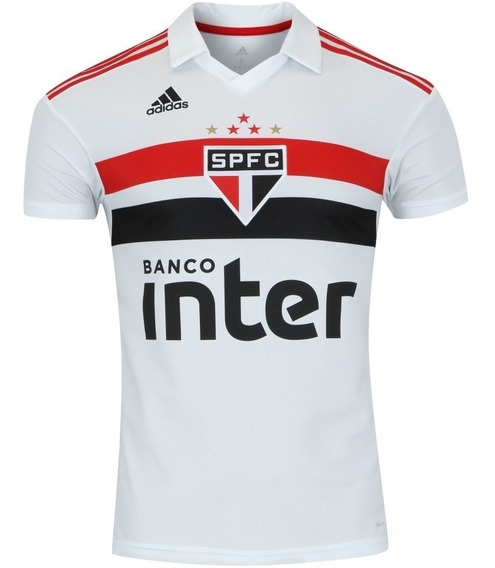Camisa adidas São Paulo Spfc Jogo I Branca Oficial Original