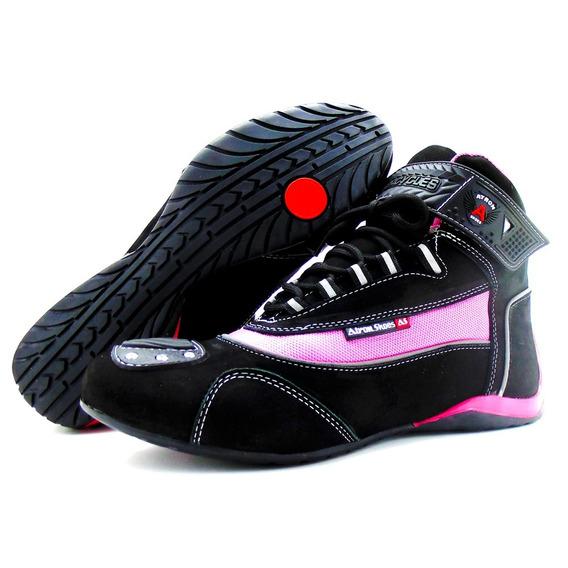 Tênis Motociclista Esportivo Refletivo Atron Shoes