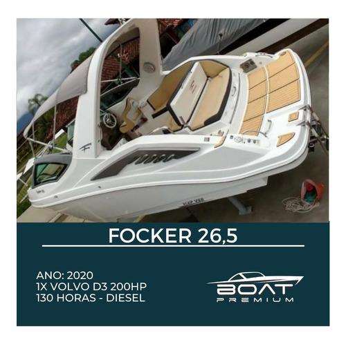 Focker 26,5, 2020, 1x Volvo D3 200hp - Magna - Phantom