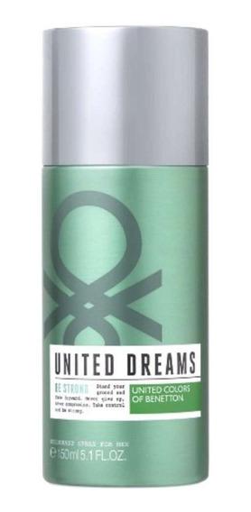 Desodorante Spray Benetton United Dreams Be Strong 150ml