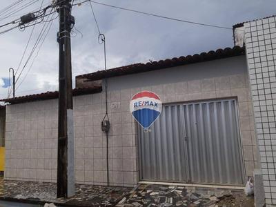 Casa Com 1 Dormitório Para Alugar, 52 M² Por R$ 800,00/mês - Cidade 2000 - Fortaleza/ce - Ca0037