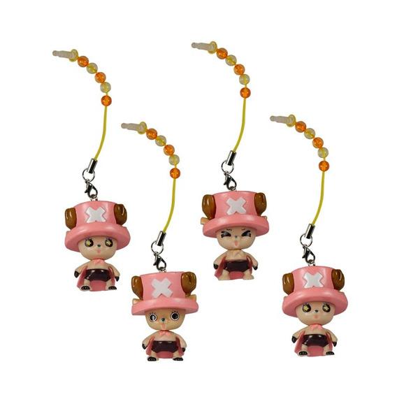 One Piece Set De 4 Piezas Phonestrap Chopper