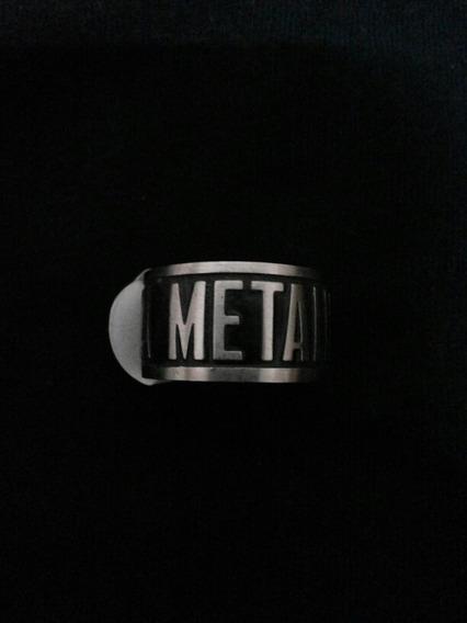 Metallica Anel. Ring.