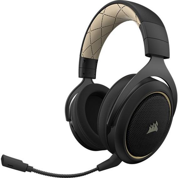 Headset Corsair Hs70 Wireless Gaming 7.1 Surround Gold