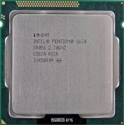 Cpu Intel G630 / 2.70 Ghz - Lga 1155 Segunda Geração