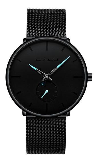 Relógio Masculino Social Ultra Fino De Luxo Analógico