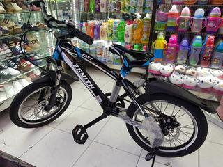 Bicicleta Infantil Niño Niña Rin # 16 Pul Junior 5 A 10 Años