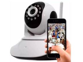 Kit Câmera Ip Wireless Sem Fio + 3 Fone Ouvido Rádio 777s