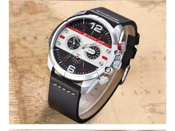 Relógio Masculino Curren Analógico Militar Original