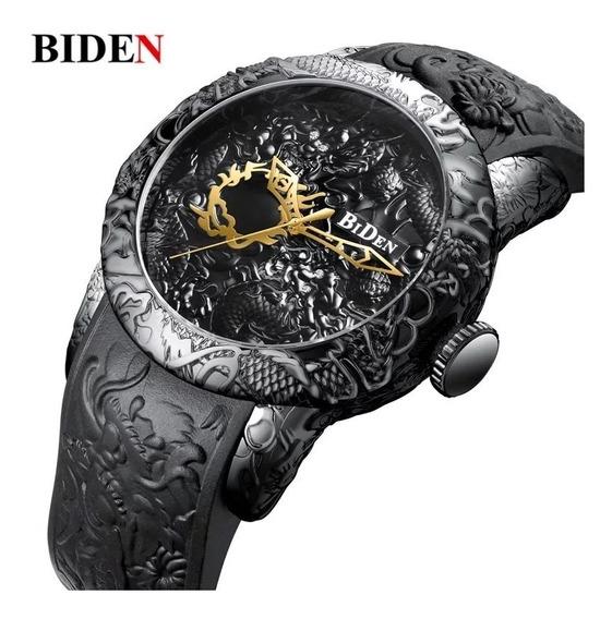 Relógio Biden Preto