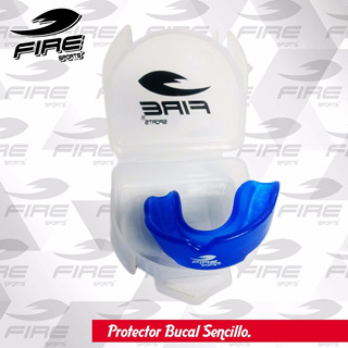 Paquete 5 Protectores Bucales Termomoldeable Mma Fire Sports