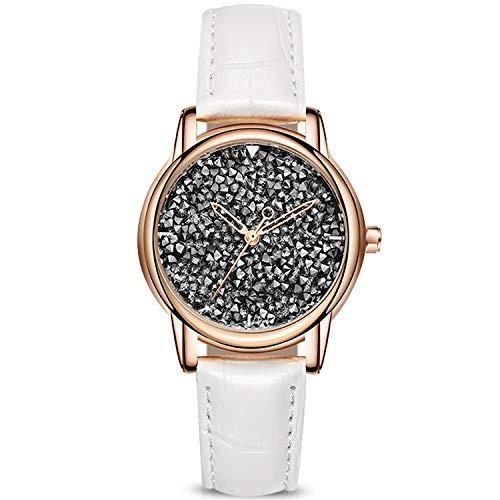 Rorios Elegante Mujer Relojes De Pulsera Cielo Estrellado C