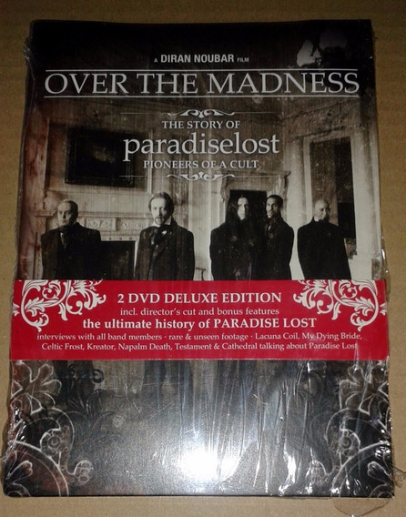 Paradise Lost - Over The Madness Dvd Duplo Limited Edition