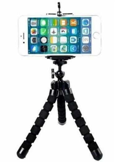 Mini Tripé Para Celulares E Câmeras