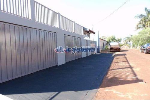Chácara À Venda, 701 M² Por R$ 600.000,00 - Condomínio Tucunaré - Alvorada Do Sul/pr - Ch0036