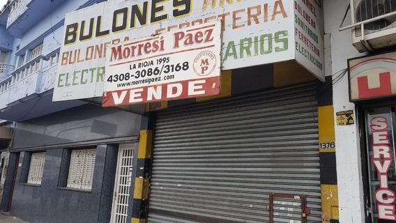 Local A La Calle Con Vidriera, Sótano Y Entre Piso, Pompeya