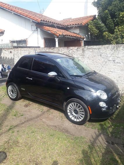 Chocado Poco Fiat 500 Lounge At Con Techo Y Cuero