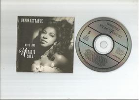 Cd Unforgettable Natalie Cole 1 Edição Encarte Completo