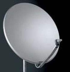 Antena Parabólica Para Banda Ku, De 1m De Diám. S/base