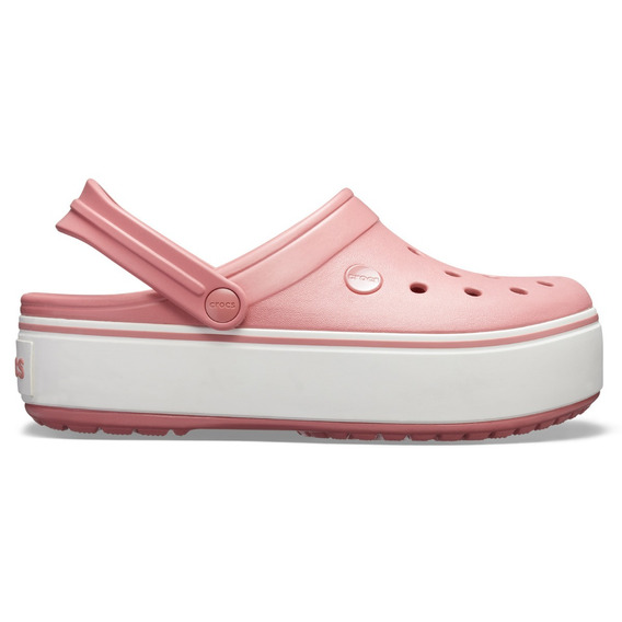 Crocs Band Plataform Clog Blossom/white