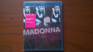 Madonna Sticky & Sweet Tour (blu-ray + Cd) E.u