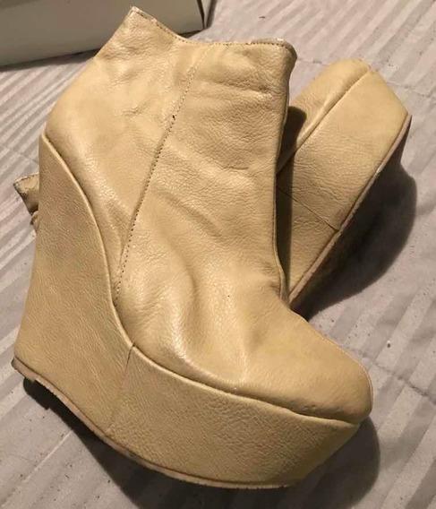 Bota Zapato Súper Alto