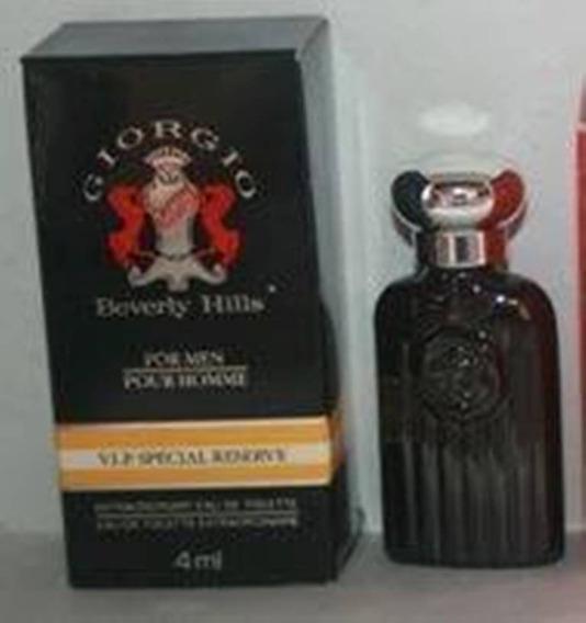 Miniatura De Perfume: Beverly Hills - Giorgio For Men - 4 Ml