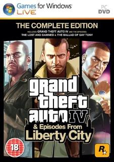 Juegos,grand Theft Auto Iv Edición Completa (versión De ..