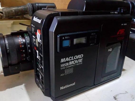 Filmadora National Maclord Vhsc Movie Ag-30c