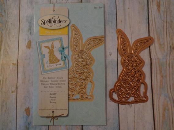 Scrapbooking Spellbinders Troquel Conejo S2-160