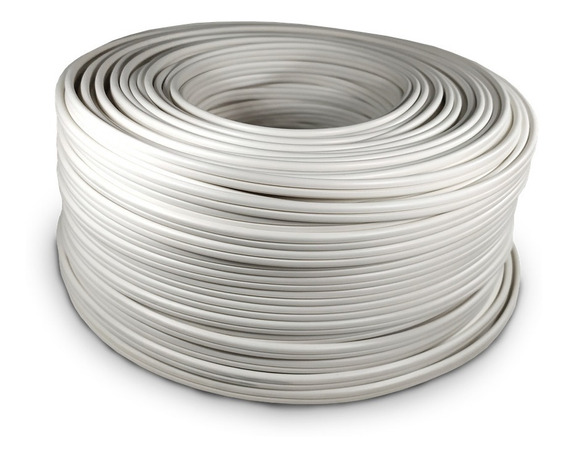 Cable Electrico Pot Duplex Calibre 16 Blanco 100m