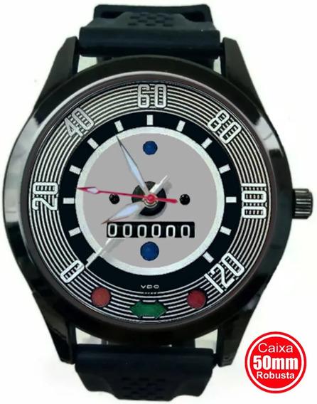 Relógio Velocímetro Vw Fusca 120km Fundo Verde 1961 Até 1966