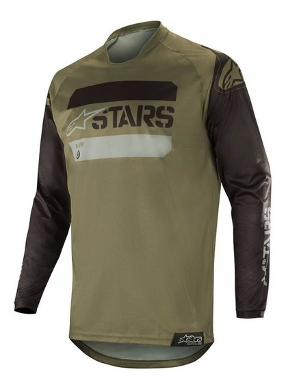 2019 Alpinestars Racer Supermatic mx motocross Cross Jersey teal Shirt BMX MTB