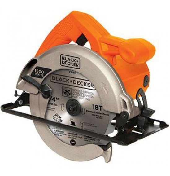 Sierra Circular 7-1/4 1500w 5000rpm Cs1024-b2 Black + Decker