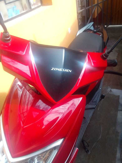 Moto Scooters Zongshen Rojo