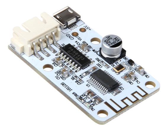 Placa De Amplificador Digital Micro Usb Dc 5v Bt Receptor De