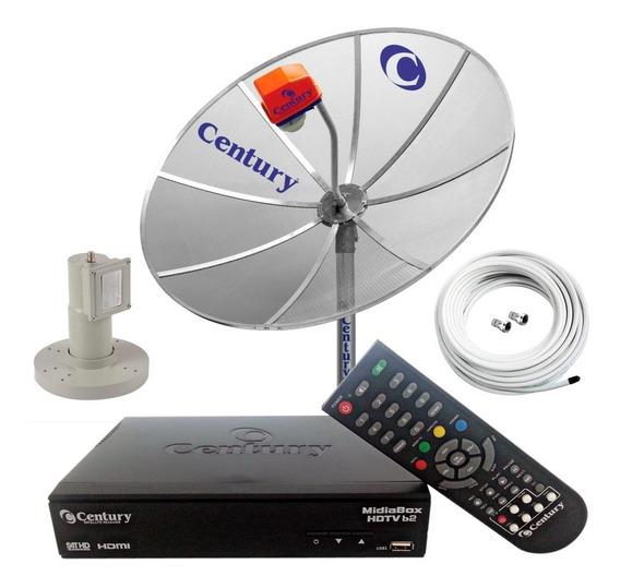 Antena Parabolica Digital Sat Hd Regional Multiponto 170 Cm