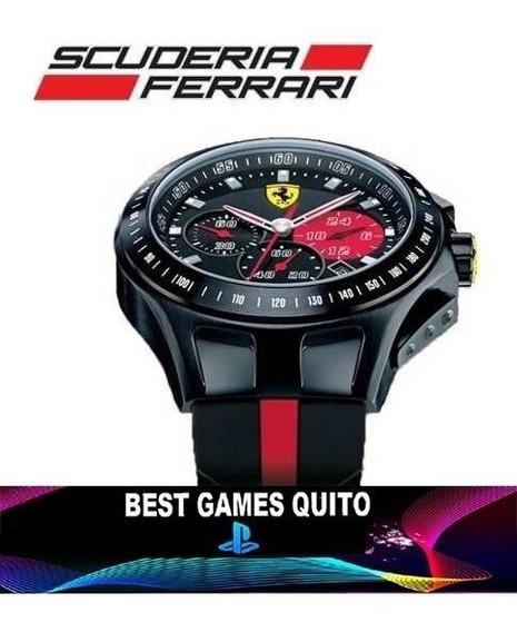 Reloj Escuderia Ferrari 0830023 Race Day Original / Sellado