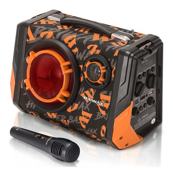 Caixa Som Bluetooth Amplificada 65w Rms Mp3 Fm Usb Microfone