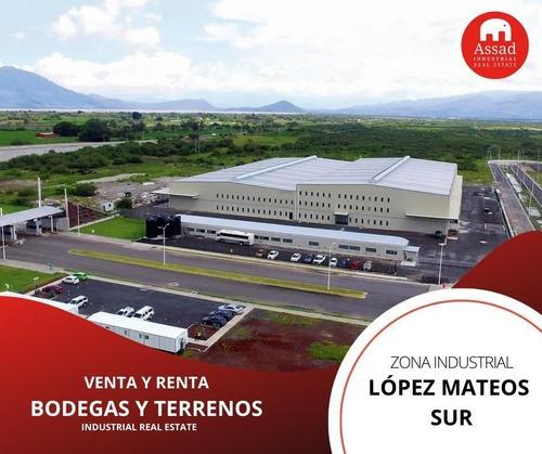 Bodega En Renta-venta / Industrial Warehouse Lopez Mateos Desde 600 M2 Hasta 14,072 M2