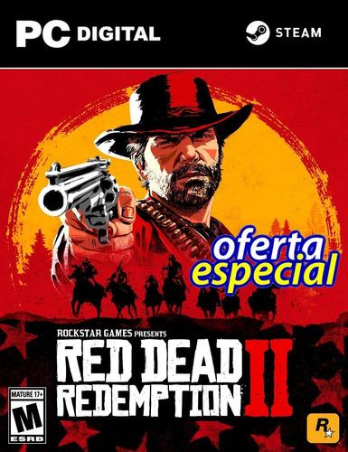 Red Dead Redemption 2 Pc Español + Online Steam Original