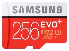 Cartão De Memoria 256gb Evo+uhs-i Microsdxc U3 Class 10 4khd