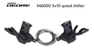 Shifter Cambio Shimano Deore Sl-m6000 2/3x10 Vel C/ Visor