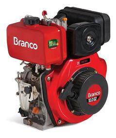 Motor À Diesel 10cv Partida Manual Bd-10.0 G2-branco-9031190