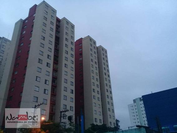Apartamento Com 2 Dormitórios Para Alugar, 49 M² Por R$ 1.300,00/mês - Vila Carmosina - São Paulo/sp - Ap0018