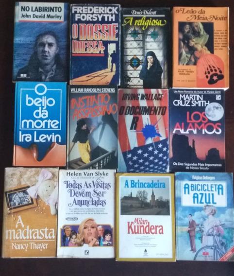 Lote C/ 50 Livros Kit Diversos P/ Sebo, Biblioteca, Leitores