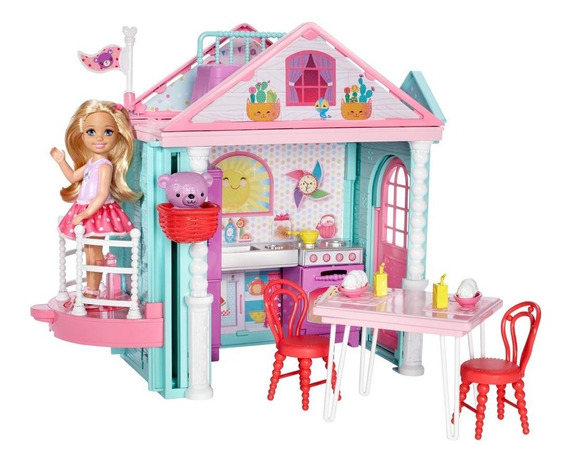 Barbie Club Chelsea Casa De Chelsea