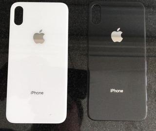 Tapa Trasera Bateria Vidrio iPhone X 8 8 Plus Negra/blanca ®